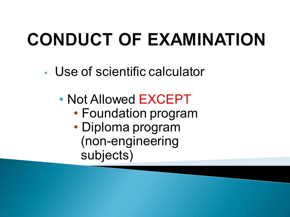Absence from Examinations : The Guidelines for VALID medical reason: 1.Produce valid MC & Medical Report AND 2.Submit to ERU within 2 working days aft