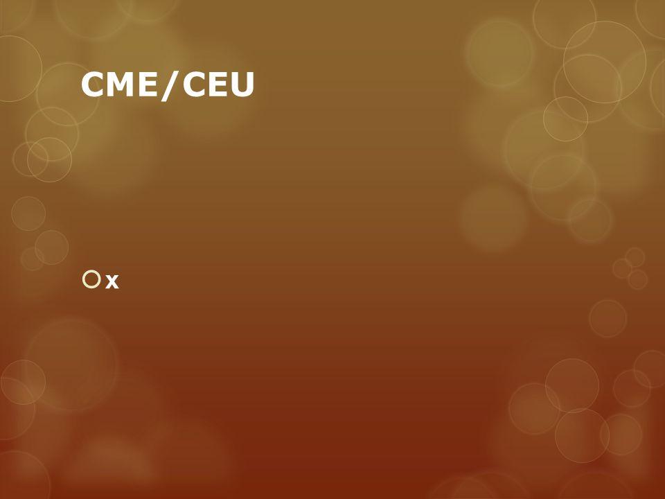 CME/CEU x
