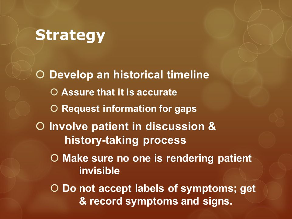 Strategy Prioritize any urgency.Develop desensitization plans for procedural anxieties.