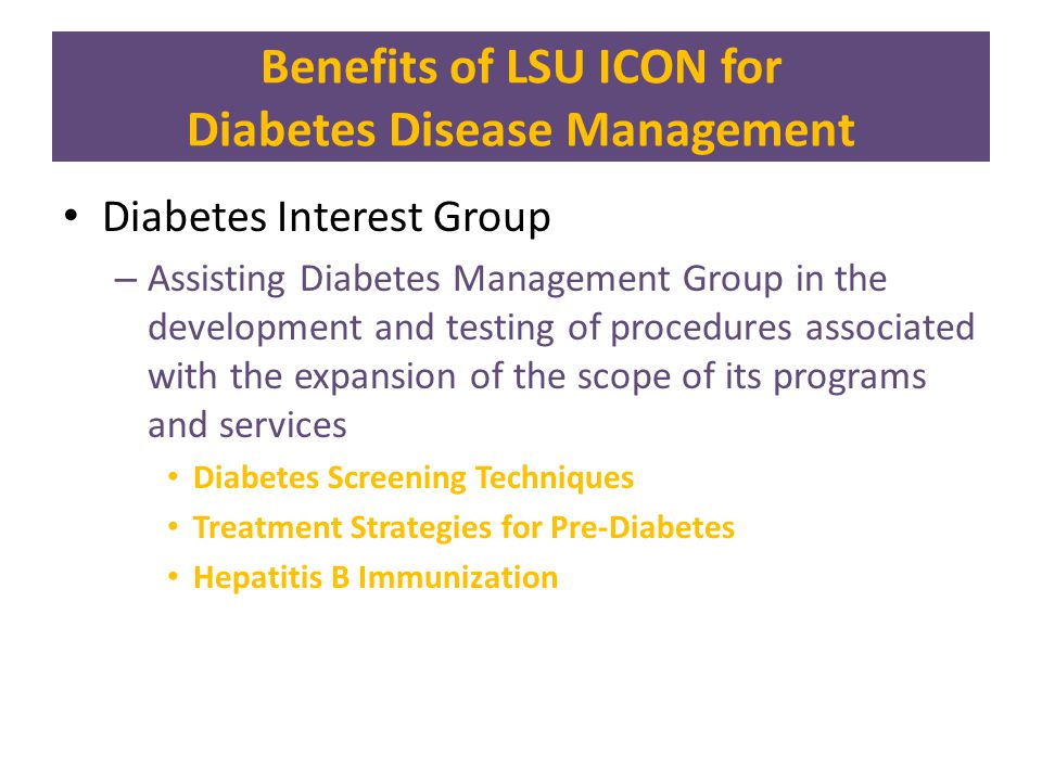 Designing Screening Algorithms for Diabetes and Pre-Diabetes Overview: This Quality Improvement Project is gathering data necessary to evaluate alternative screening algorithms for identifying previously undiagnosed patients with diabetes and pre-diabetes.