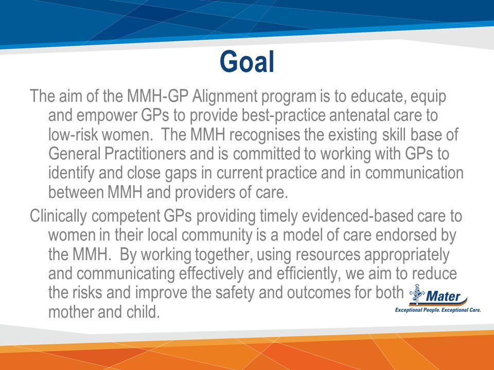 GP Alignment Bridging Program Dr Wendy Burton (MBBS) Chair Alignment Committee / Clinical Lead GMSBML & Tionie Newth (BN & MMid) GP Liaison Midwife