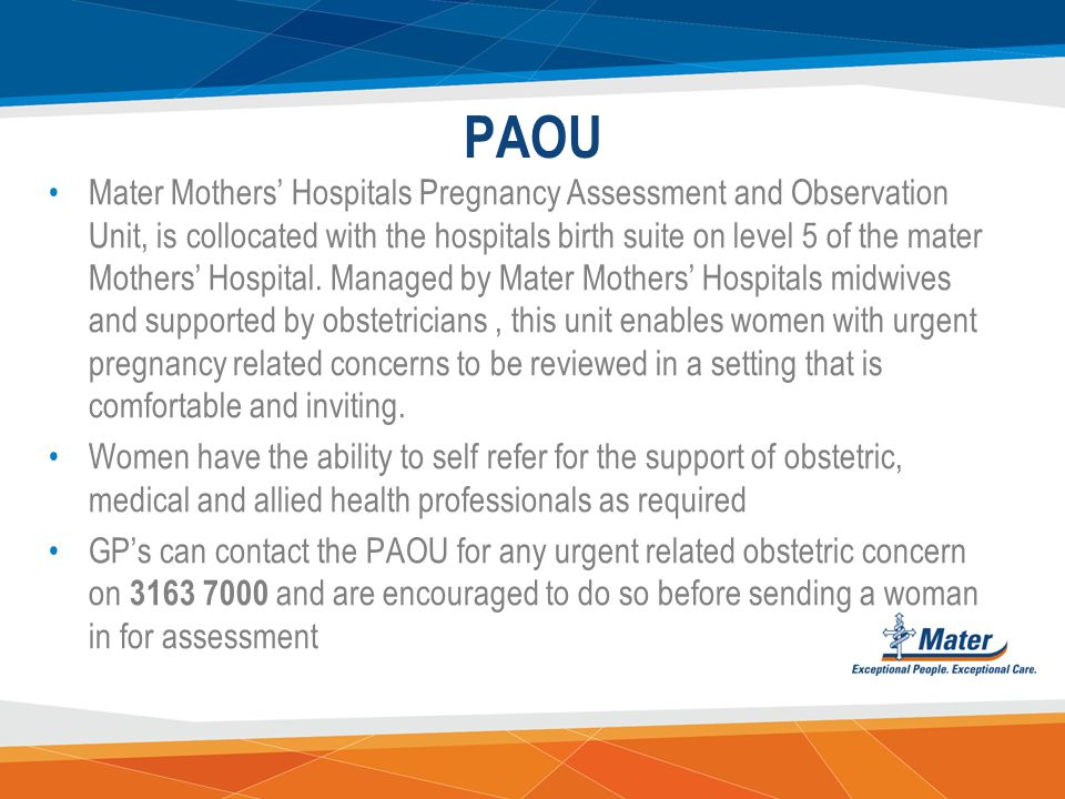 EPAU In addition to surgical management of miscarriages and ectopic pregnancies, the EPAU is able to offer medical management to suitable women They d