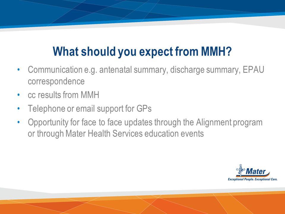 Contact details Alignment status, contact details & evaluation enquiries? Sarah Renals Phone 3163 1967 Email Sarah.Renals@mater.org.auSarah.Renals@mat
