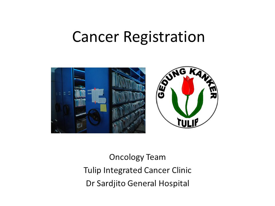 TULIP integrated cancer clinic Funded by Dutch Cancer Foundation (KWF) Operated since 2001 Service: adult oncology cases.