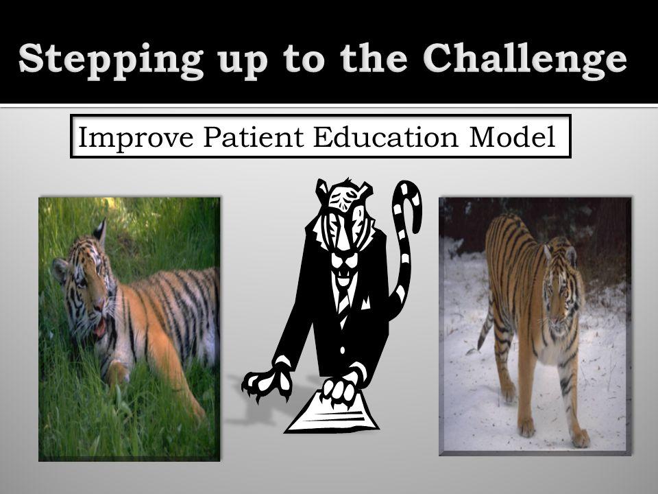 Improve Patient Education Model