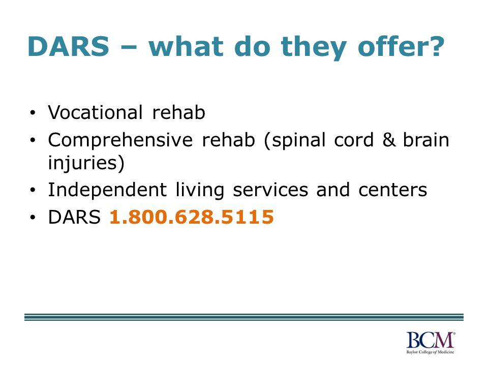 DARS – what do they offer.