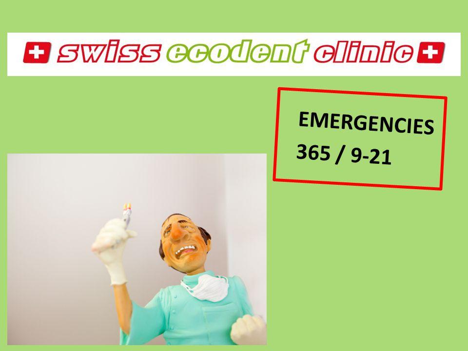 EMERGENCIES 365 / 9-21