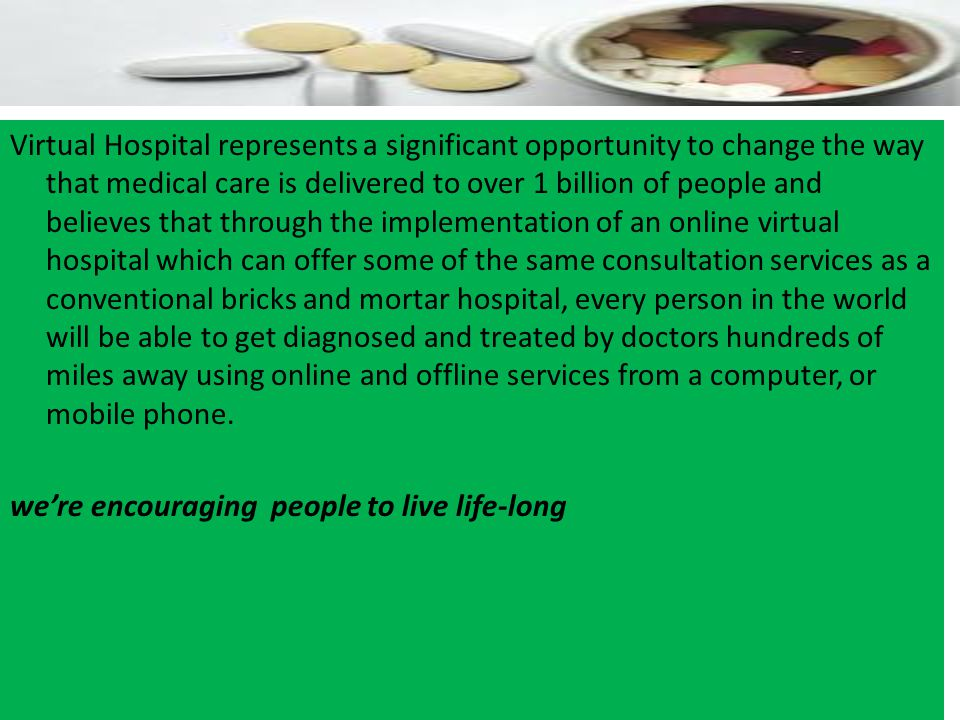 OVERVIEW In one way or another it is difficult and maybe even impossible to imagine future healthcare that are not supported by Information and Commun