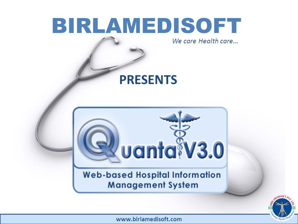 www.birlamedisoft.com Stakeholders in Healthcare