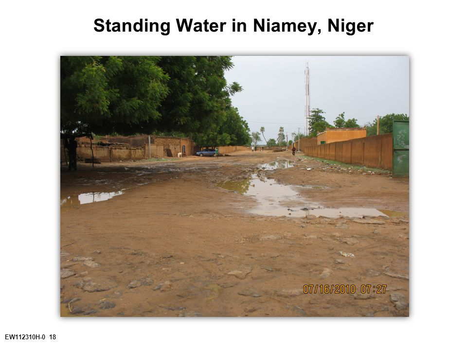 EW112310H-0 18 Standing Water in Niamey, Niger