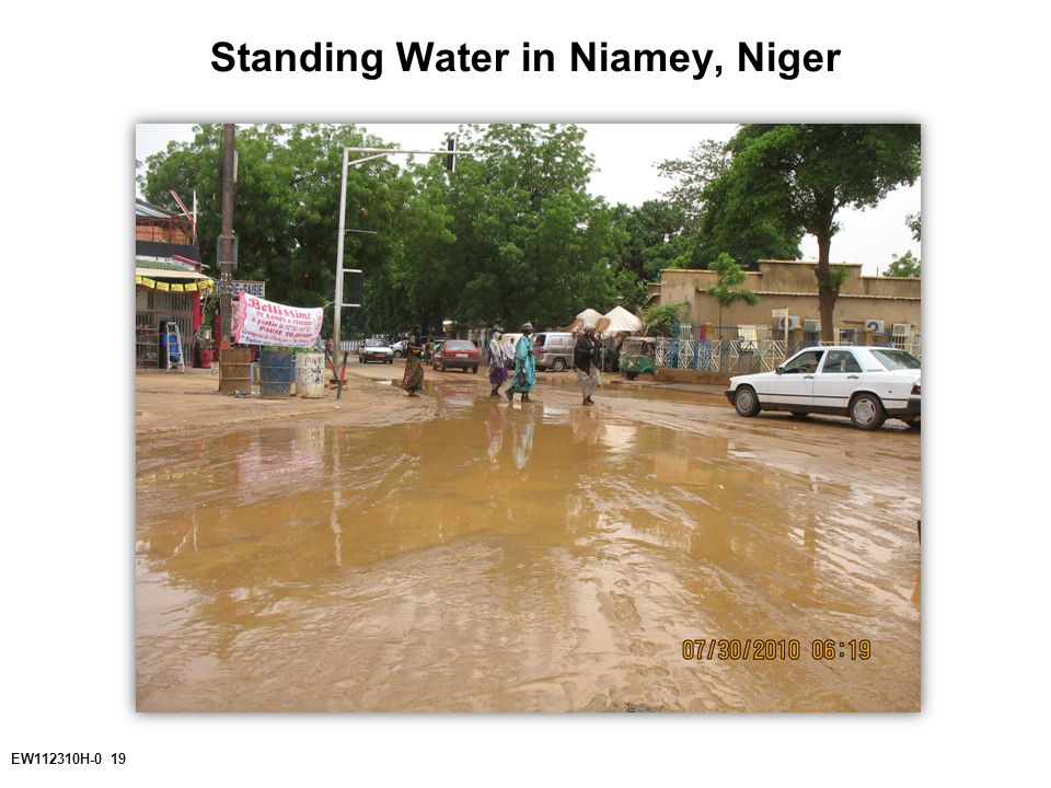 EW112310H-0 19 Standing Water in Niamey, Niger