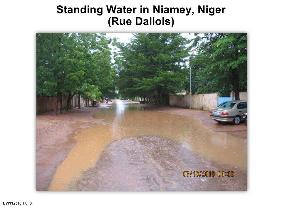 EW112310H-0 8 Standing Water in Niamey, Niger (Rue Dallols)
