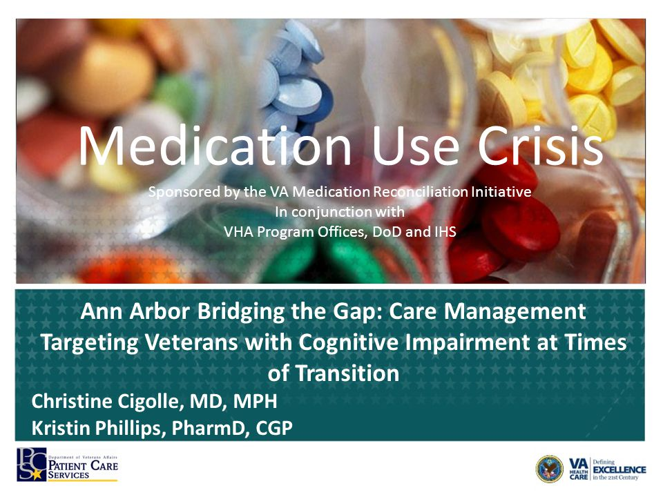 VETERANS ADMINISTRATION PATIENT CARE SERVICES Bridging the Gap: Care Management Targeting Veterans with Cognitive Impairment at Times of Transition Clinical Demonstration Project – Innovative Patient Centered Alternatives to Institutional Extended Care Transformation-21 (T-21) initiative – VA Ann Arbor Healthcare System (VAAAHS) Team members – Advanced practice nurse (0.5 FTE) – Clinical pharmacist (0.5 FTE) – Social Worker (0.5 FTE) – Geriatricians (0.25 FTE) 10