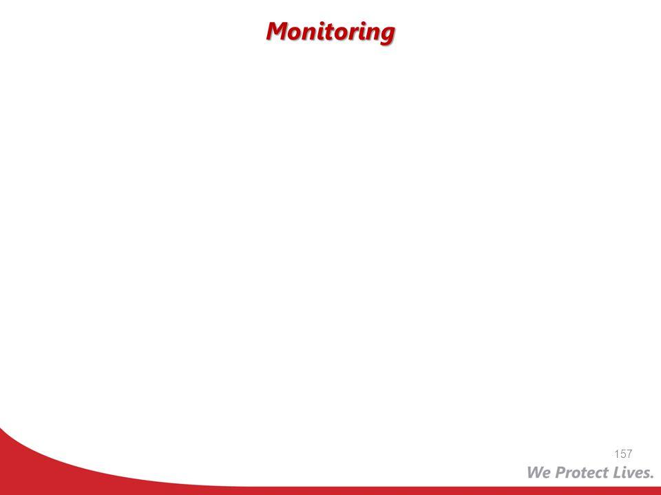Monitoring 157