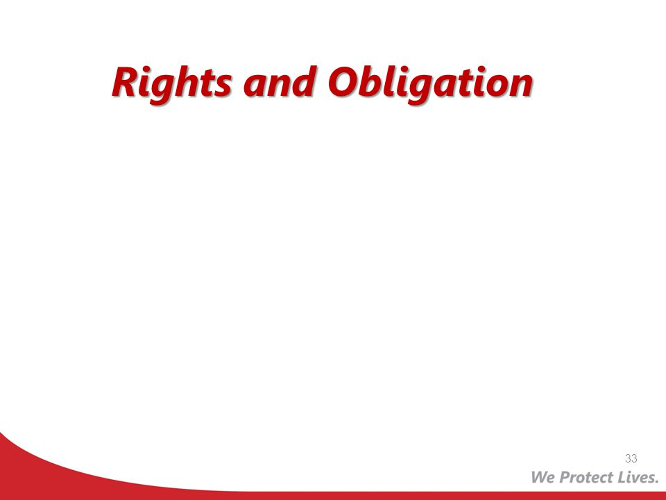 Rights and Obligation 33