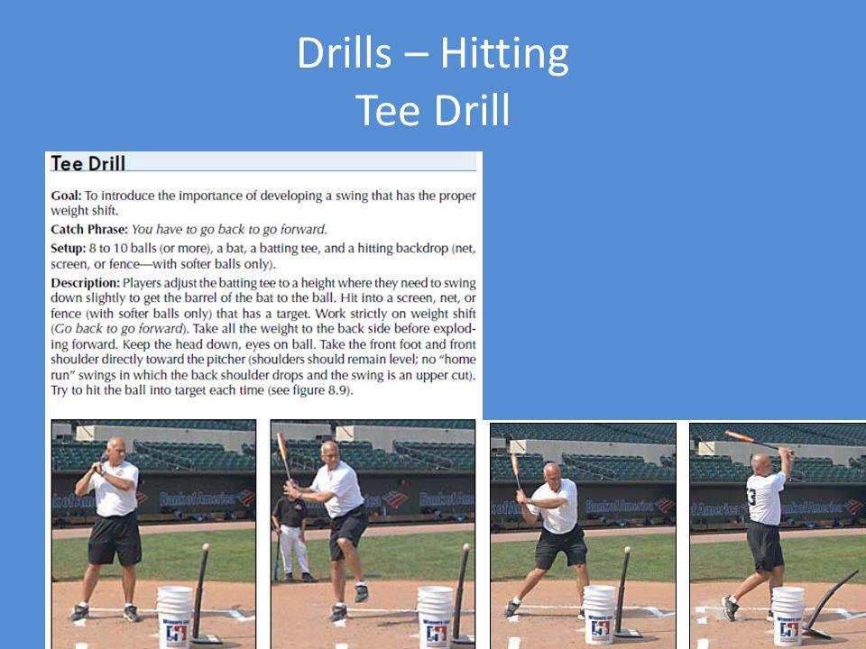 Drills – Hitting Tee Drill