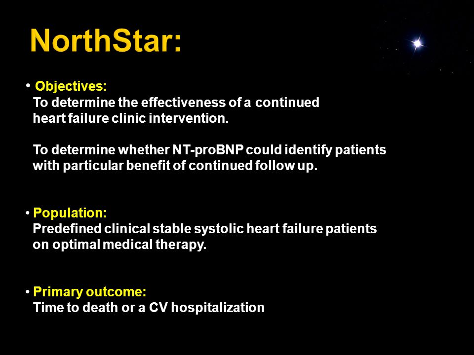 Objectives: To determine the effectiveness of a continued heart failure clinic intervention.