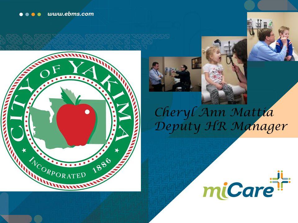 Cheryl Ann Mattia Deputy HR Manager