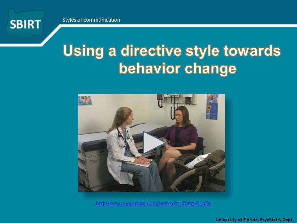 University of Florida, Psychiatry Dept. http://www.youtube.com/watch?v=2fdfzUS1qDc