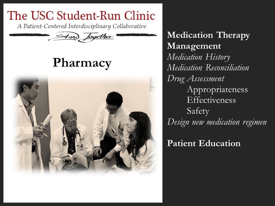 Pharmacy Medication Therapy Management Medication History Medication Reconciliation Drug Assessment Appropriateness Effectiveness Safety Design new me