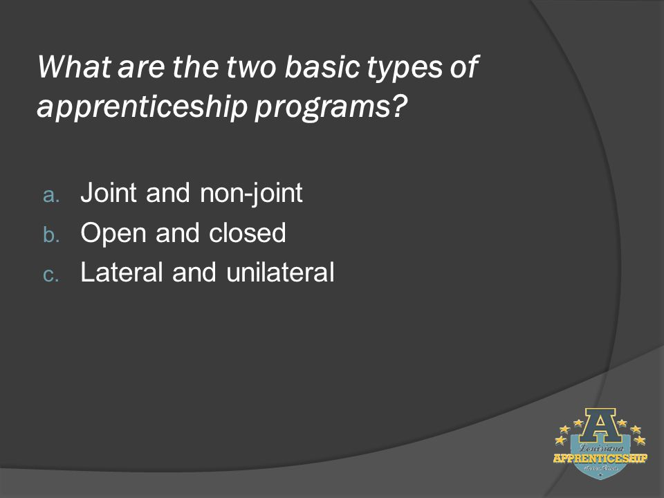 True or False: Full-time employment is a key element of a Registered Apprenticeship program.