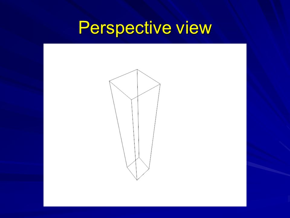 Perspective view