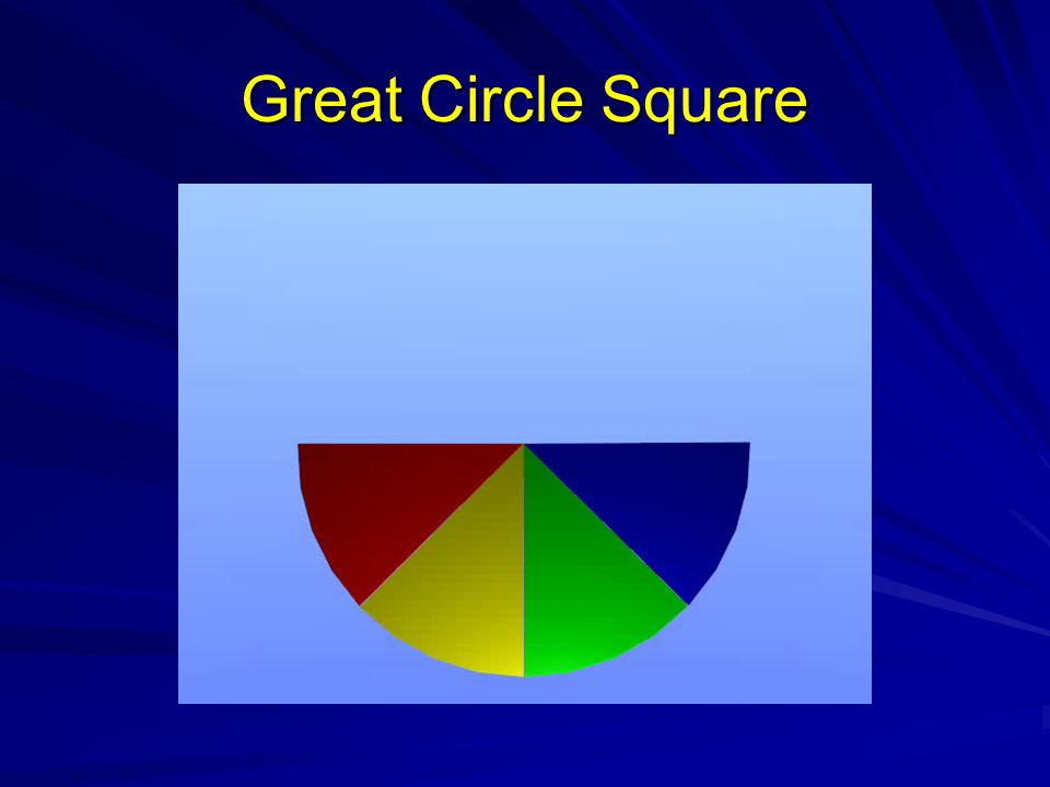 Great Circle Square