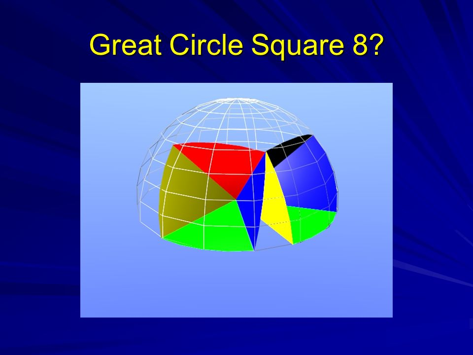 Great Circle Square 8