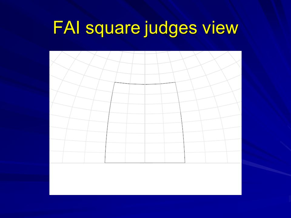 FAI square judges view