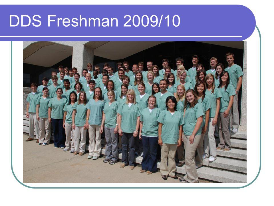 DDS Freshman 2009/10