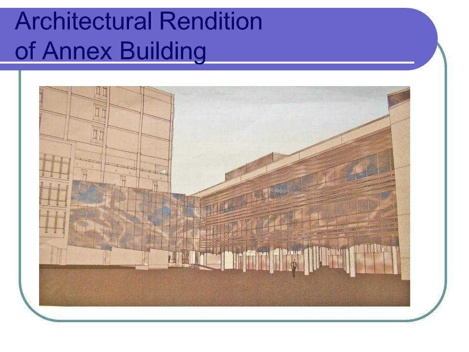 Architectural Rendition of Annex Building