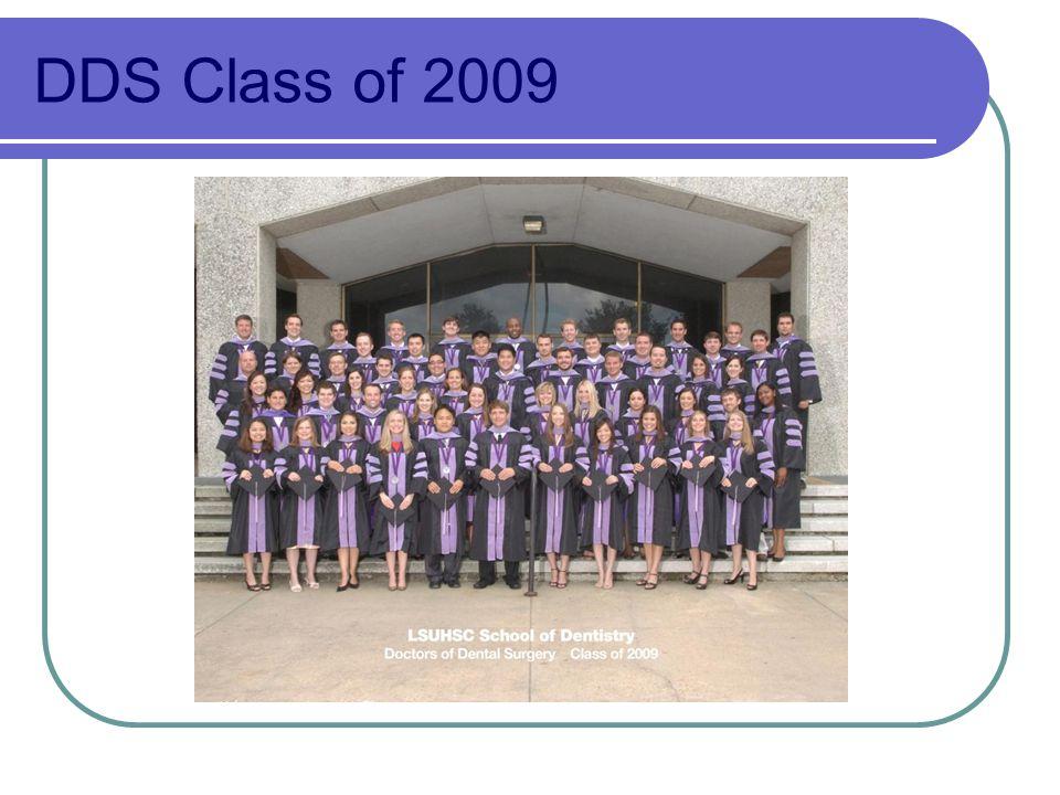 DDS Class of 2009