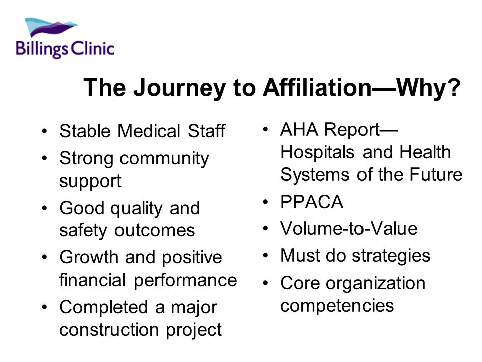 The Journey to AffiliationWhy.