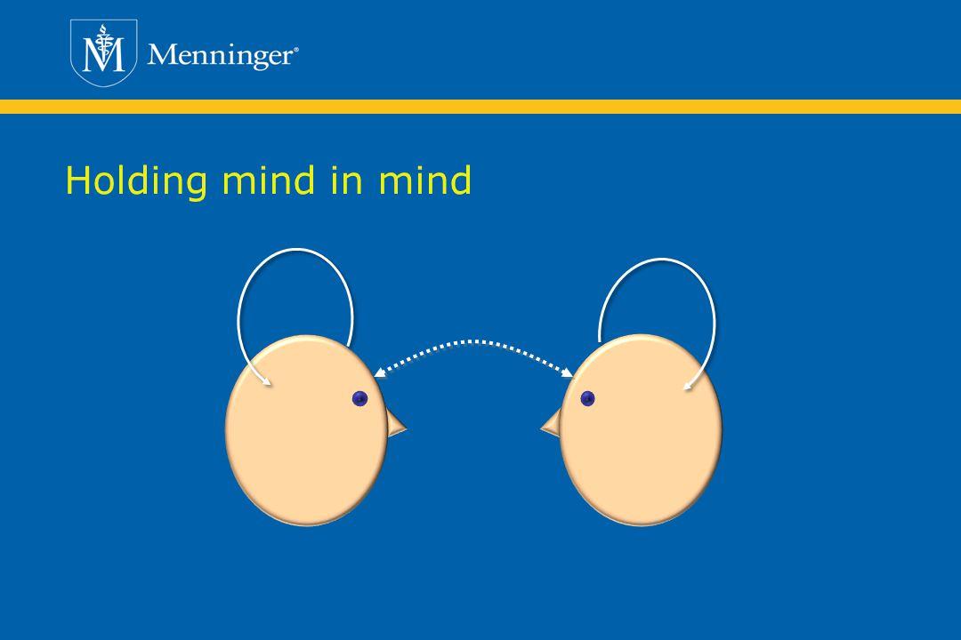 Holding mind in mind