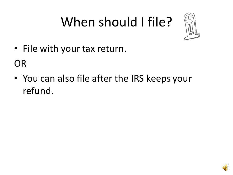 Where do I send my Form 8379? IRS Service Center Austin, TX 73301-0002