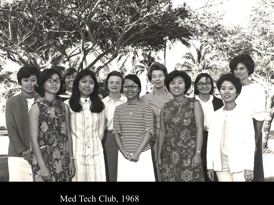 Med Tech Club, 1968