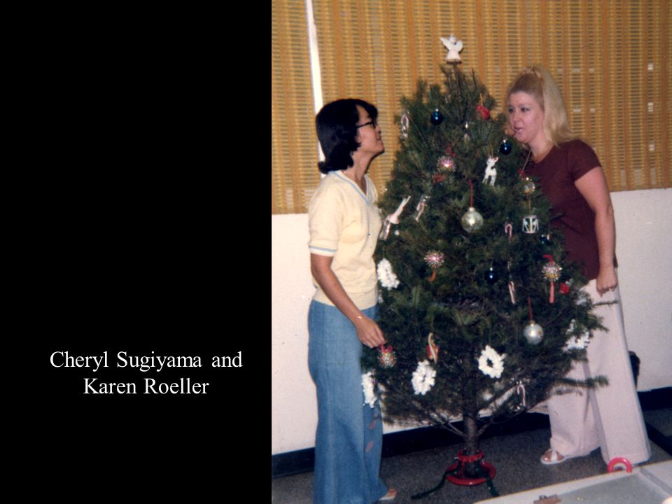Cheryl Sugiyama and Karen Roeller
