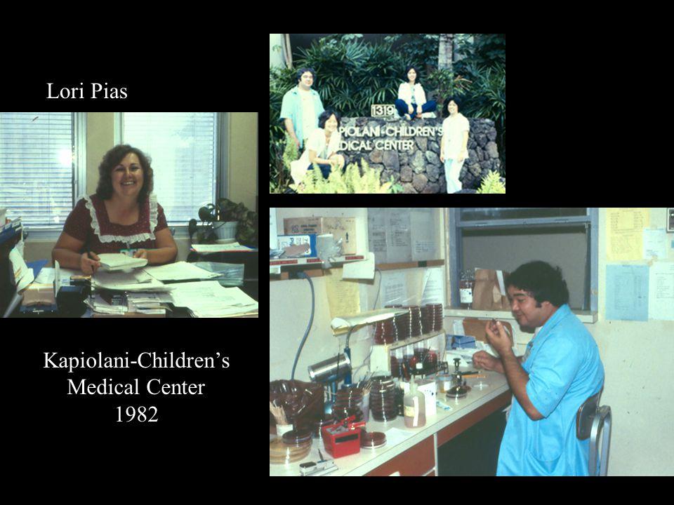 Kapiolani-Childrens Medical Center 1982 Lori Pias