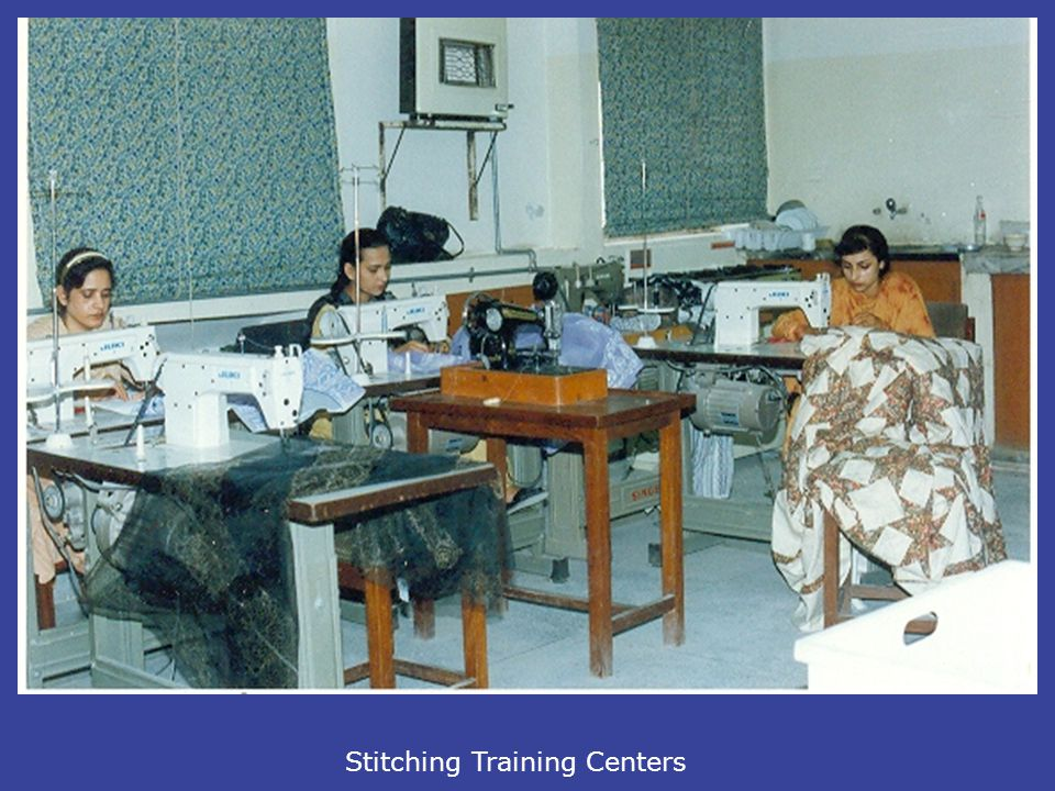 Stitching Training Centers