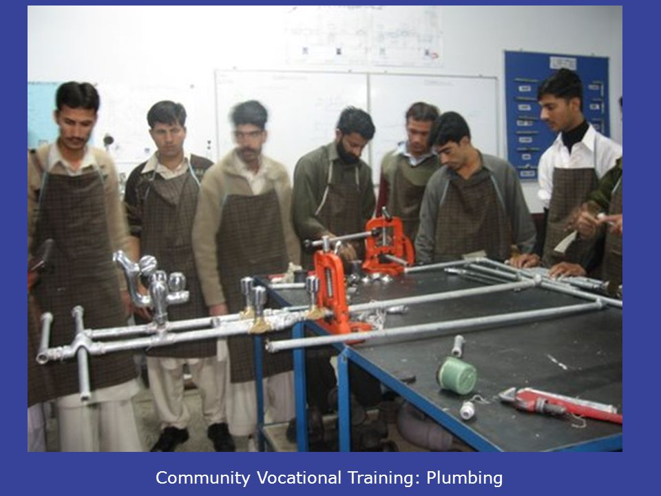 Community Vocational Training: Plumbing