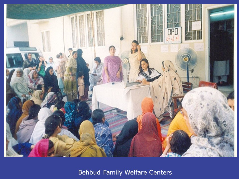Behbud Family Welfare Centers