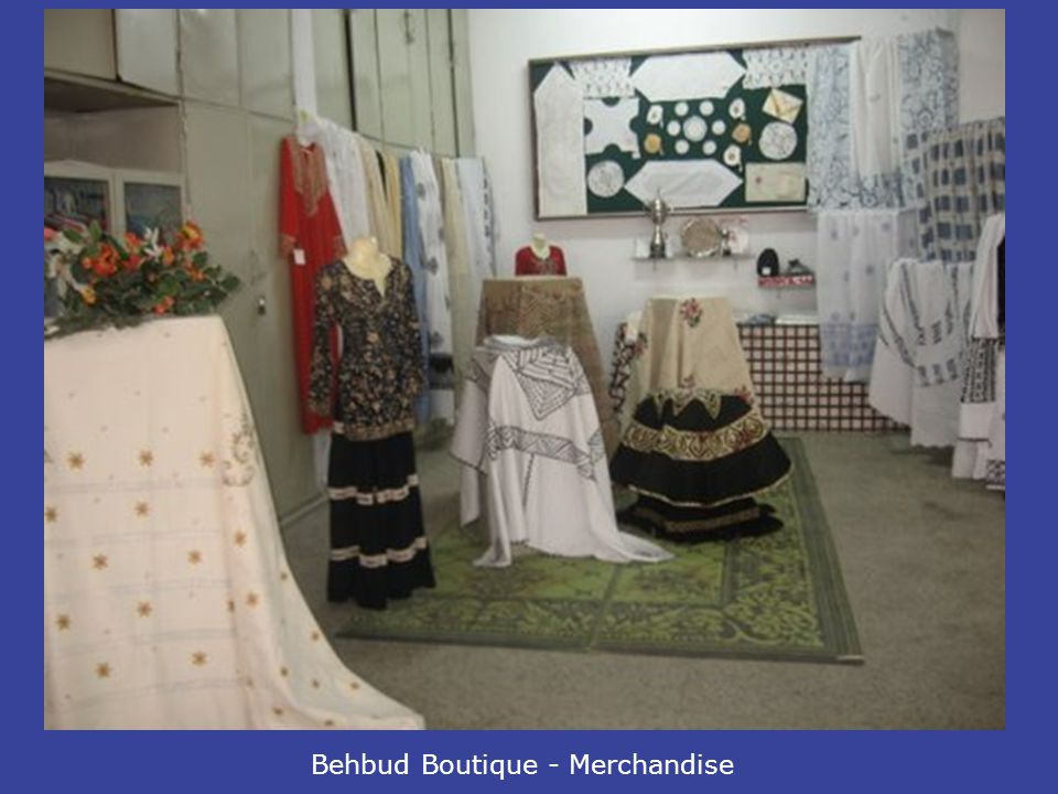 Behbud Boutique - Merchandise