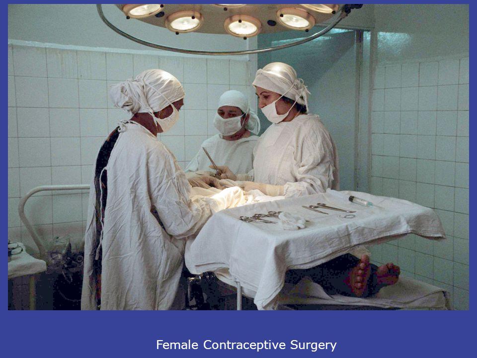 Female Contraceptive Surgery