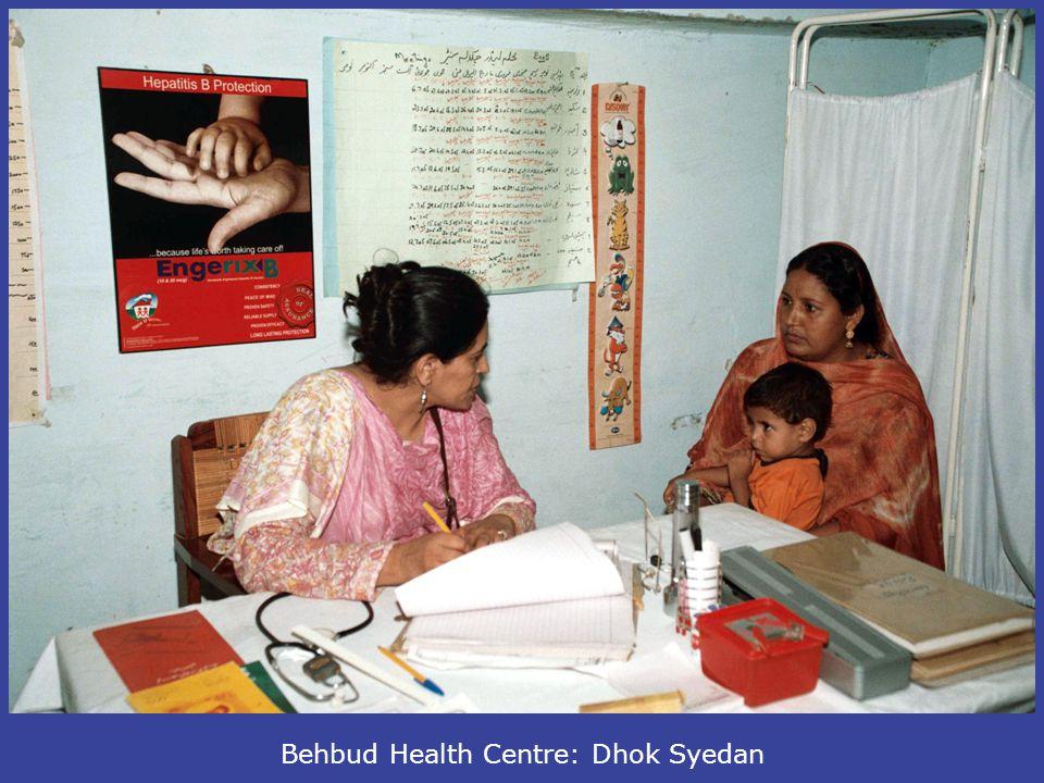 Behbud Health Centre: Dhok Syedan