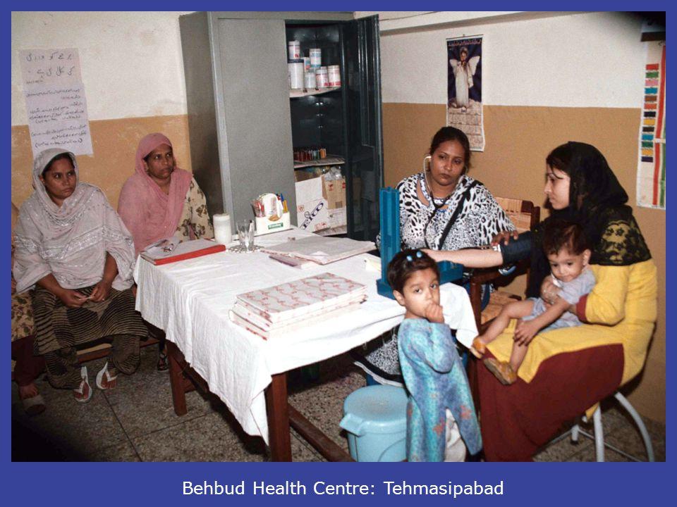 Behbud Health Centre: Tehmasipabad