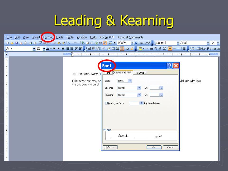 Leading & Kearning