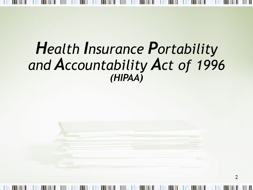 33 Health Care Operations Quality assessment/improvement Determining clinical privileges Reviewing plan performance Insurance rating, underwriting, etc.