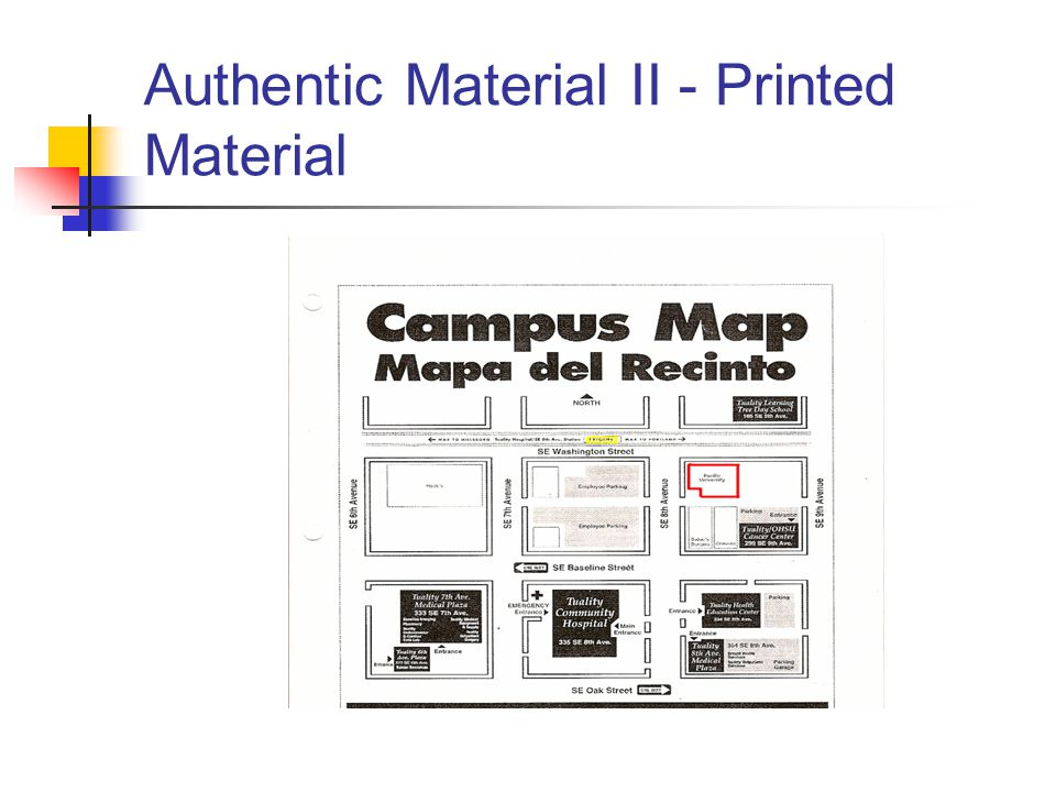 Authentic Material II - Printed Material