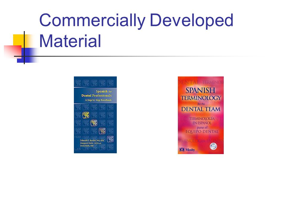 Commercially Developed Material