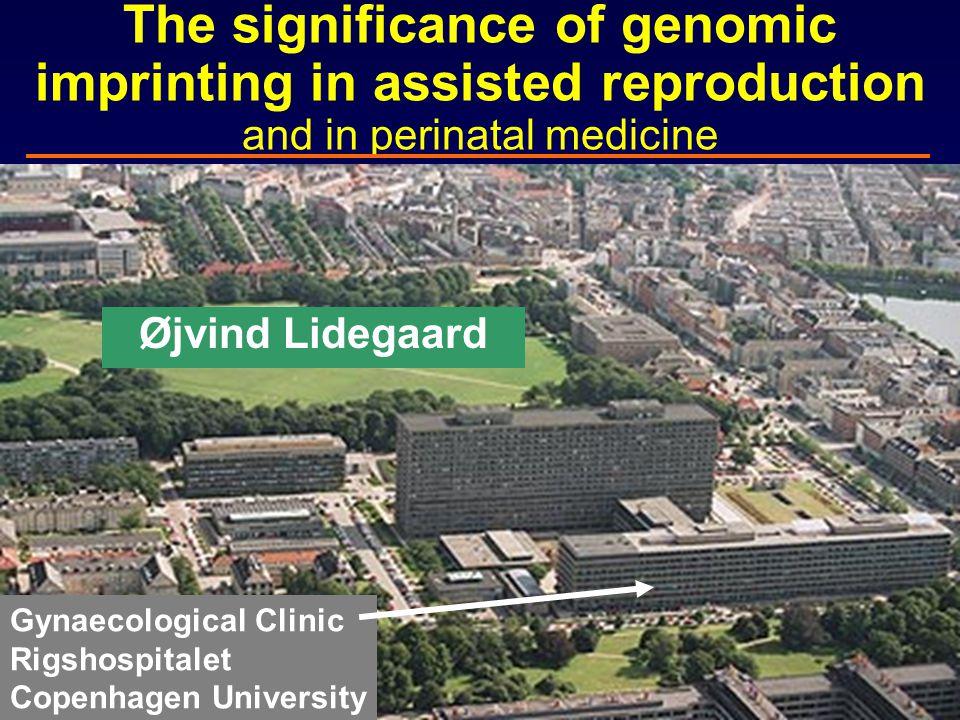 Genetic and epigenetic interaction Gosden et al. N Engl J Med 2007; 356: 731-3